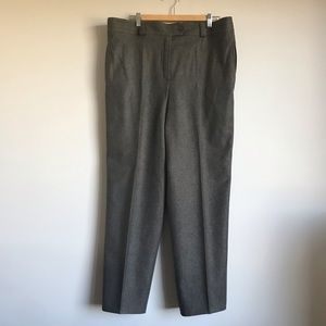 Escada wool pants gray size 40